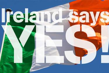 Ireland's social revoltuion - Same-sex marriage legalized in Ireland in 2015
